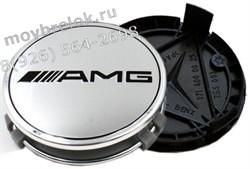 Колпачки в диск Мерседес AMG (75 мм) АМГ / (кат.B66470202) - фото 21032