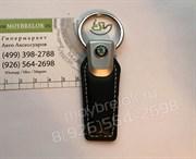 Брелок Шкода для ключей кожаный (q-type)