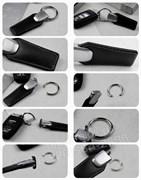 Брелок Субару для ключей кожаный (q-type)