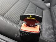 Заглушки Феррари ремня безопасности, пара (Т-тип, металл)