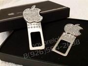 Заглушки Apple ремня безопасности (кристалл), набор 2шт в коробке