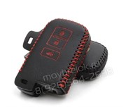 Чехол для ключа Тойота camry кожаный для выкидного ключа 3 кнопки