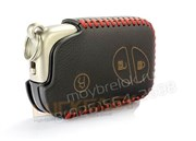 Чехол для смарт ключа Лексус кожаный 3 кнопки, IS серия, черный