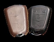 Чехол для ключа Кадиллак кожаный (натуральная, мягкая) эксклюзив