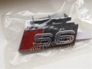 Эмблема Ауди S6 решетки радиатора (4G8-835-7352ZZ)