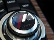 Эмблема БМВ M performance на джойстик мультимедиа (30 мм)