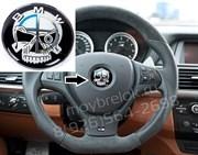 Эмблема БМВ пират в руль (45 мм)