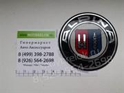 Эмблема БМВ Alpina на двустороннем скотче (64мм)