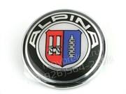 Наклейка БМВ Alpina (73 мм) на капот / багажник