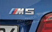 Эмблема БМВ M5 багажник (хром,металл)