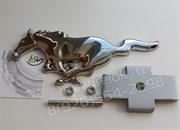 Эмблема Форд Mustang решетка радиатора (металл, хром)