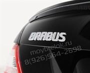 Эмблема Мерседес Brabus на багажник пластик