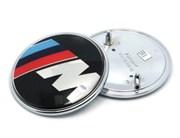 Эмблема БМВ M performance на капот / багажник