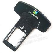 Заглушки БМВ Alpina ремня безопасности, пара (Т-тип, металл)