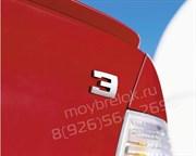 Эмблема БМВ 3 багажник (мет.)