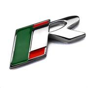 Эмблема Ягуар R на багажник, (хром)