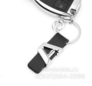 Брелок Мерседес для ключей A-klasse кожаный