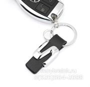 Брелок Мерседес для ключей S-klasse кожаный