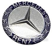 Эмблема Мерседес на 3М скотче (75 мм)