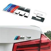 Эмблема БМВ M3 багажник (хром,металл)