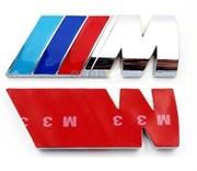 Эмблема БМВ M performance багажник (мет.)