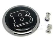 Эмблема Мерседес Brabus на капот / 62 мм