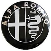 Эмблема Альфа Ромео 75мм капот, багажник