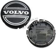 Колпачки в диск Вольво 64/65 мм черные / (кат.30666913)