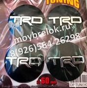 Наклейки на ЦО колпачки в диск для Toyota TRD