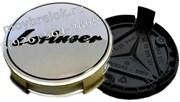 Колпачки в диск Мерседес Lorinser (75 мм) хром