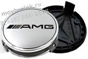 Колпачки в диск Мерседес AMG (75 мм) АМГ / (кат.B66470202)