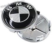 Колпачки в диск БМВ карбон (65/68 мм)