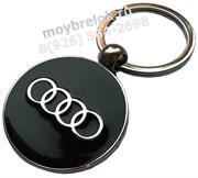 Брелок Ауди для ключей черный