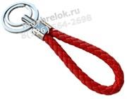 Брелок Ауди для ключей кожаный, петля