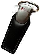 Брелок Ауди S-line для ключей кожаный (q-type)