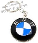 Брелок БМВ для ключей круглый 4 см