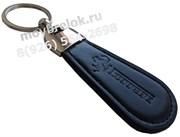 Брелок Феррари для ключей овальный кожаный ремешок (lt2)