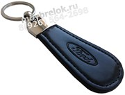 Брелок Форд для ключей овальный кожаный ремешок (lt2)