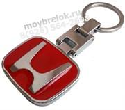 Брелок Хонда для ключей красный