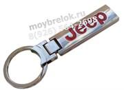 Брелок Джип для ключей удлиненный красный