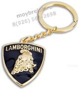Брелок Ламборгини для ключей золотой