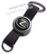 Брелок Лексус для ключей кожаный ремешок (rm2)