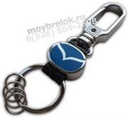 Брелок Мазда для ключей карабин