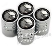Колпачки на ниппель Мерседес (колос, цилиндр) комплект 4шт