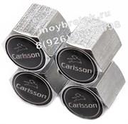 Колпачки на ниппель Мерседес Carlsson (шестигр.-хром) комплект 4шт