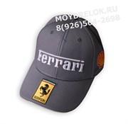 Кепка Феррари Formula 1 Shell edition серая