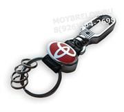 Брелок Тойота для ключей карабин