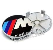 Колпачки в диск БМВ M performance (65/68 мм)