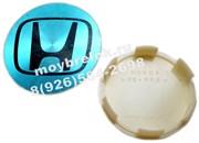 Колпачки на диски Хонда эмблема плоская с ободом 44732-SX0-J0101