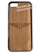 Деревянный чехол Бентли на телефон